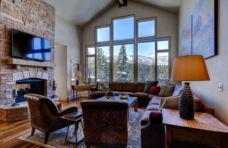 This private home has ski-in/ski-out access and is the perfect place to gather friends and family.