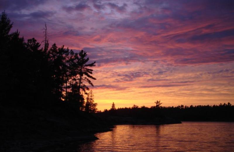 The Lake at Camp Wanikewin Lodge