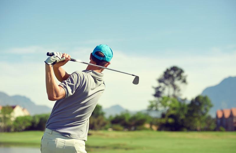 Golf near Big McDonald Resort.