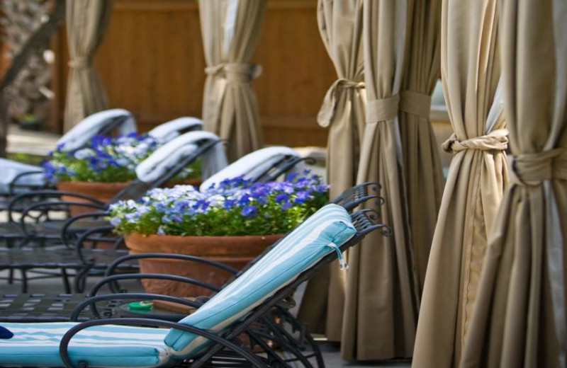 Poolside Cabanas at Lake Austin Spa Resort