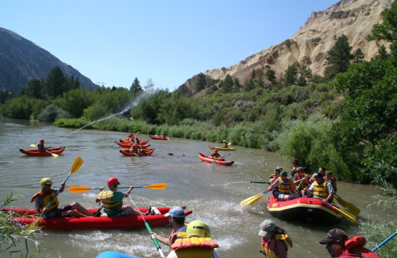 River rafting at Big Rock Candy Mountain Resort.