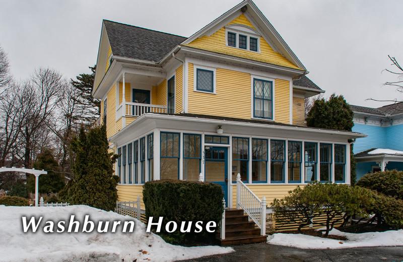 Washburn exterior at White Lace Inn.