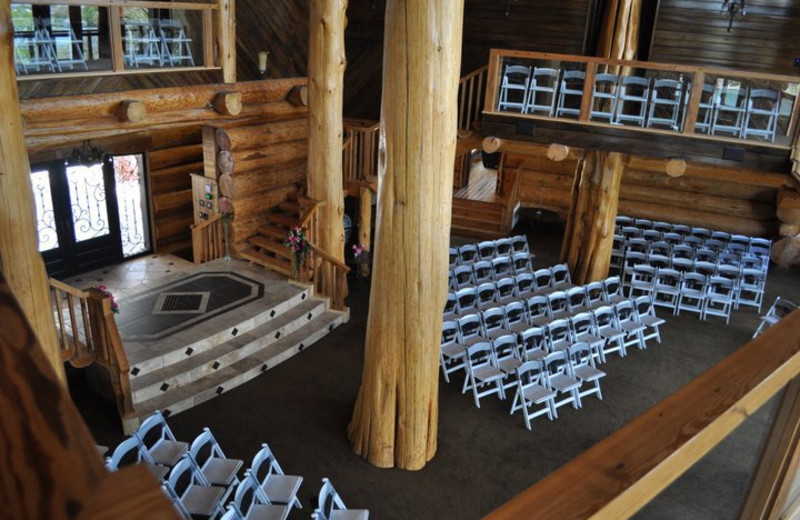 Wedding at Log Country Cove.