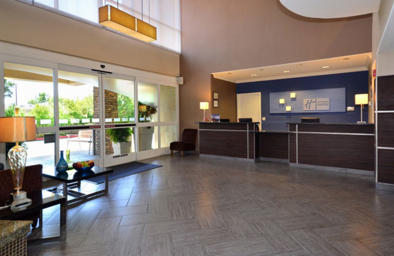 Front Desk at Holiday Inn Express Hotel & Suites Santa Clara