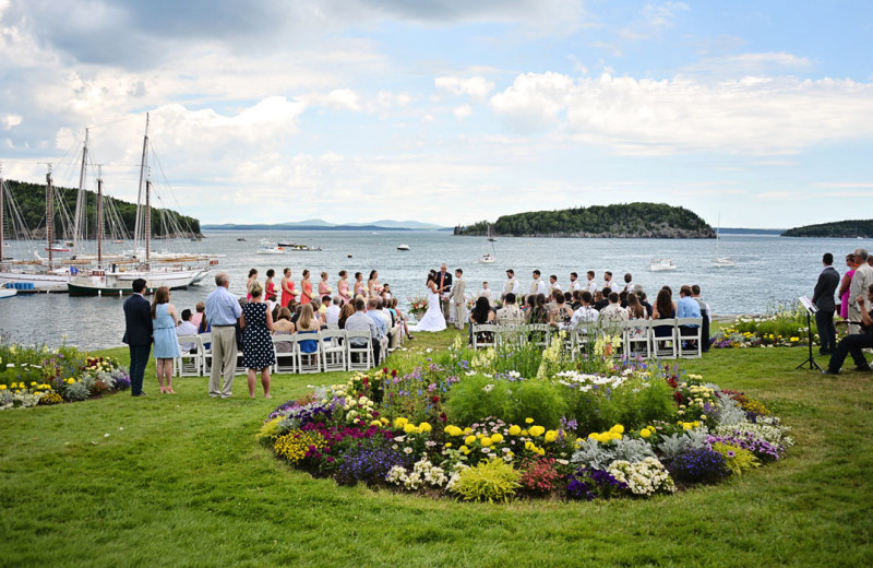 Wedding at Bar Harbor Inn & Spa.
