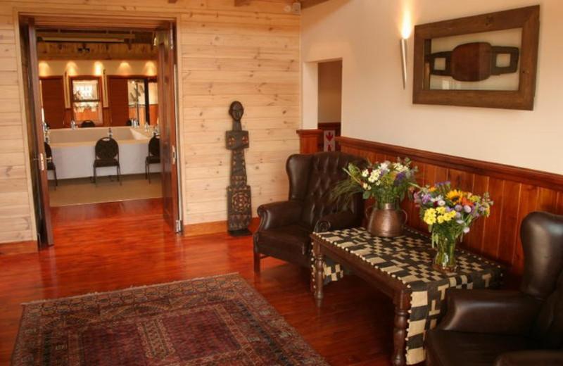 Guest room at Tau Game Lodge.
