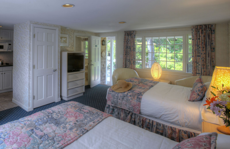 Studio guest room at Pleasant Bay Village.