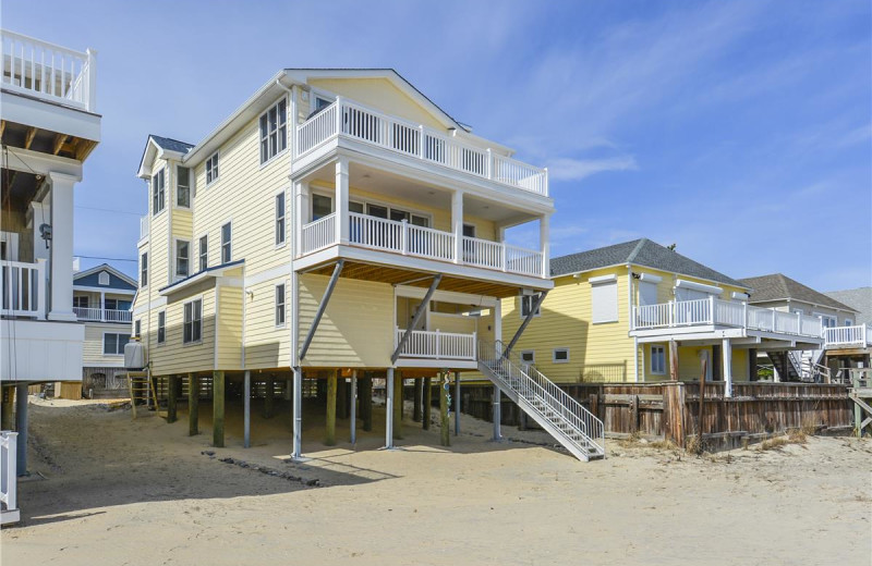 Rental exterior at Long & Foster Vacation Rentals -Bethany Beach.