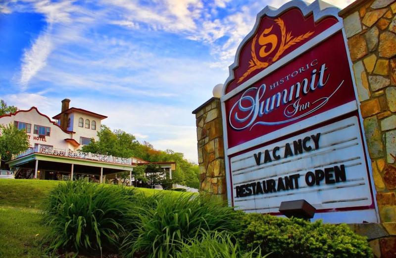 Exterior view of Summit Inn Resort.
