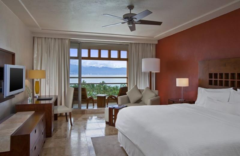 Guest room at Westin Resort & Spa, Puerto Vallarta.