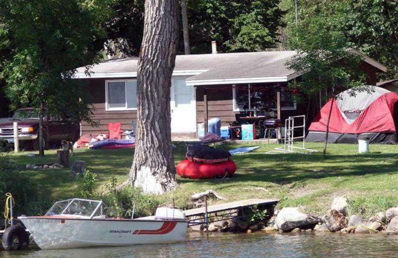 Loon Cabin at Ten Mile Lake Resort.