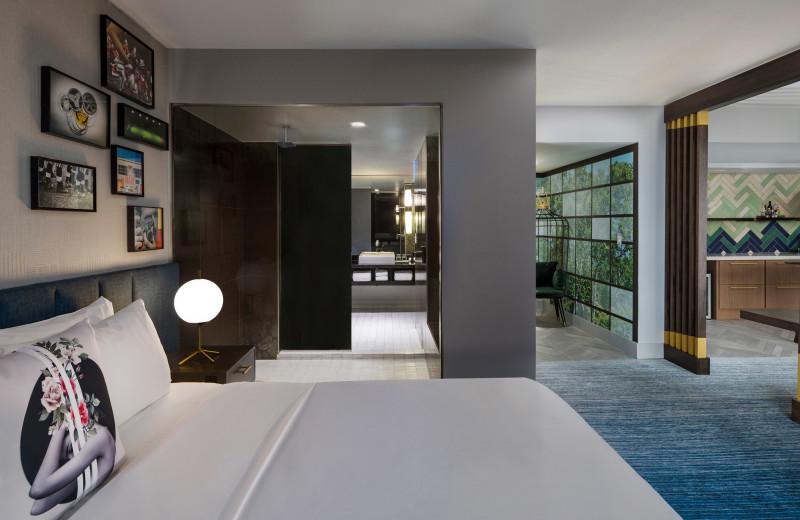 Guest room at W Atlanta - Midtown.