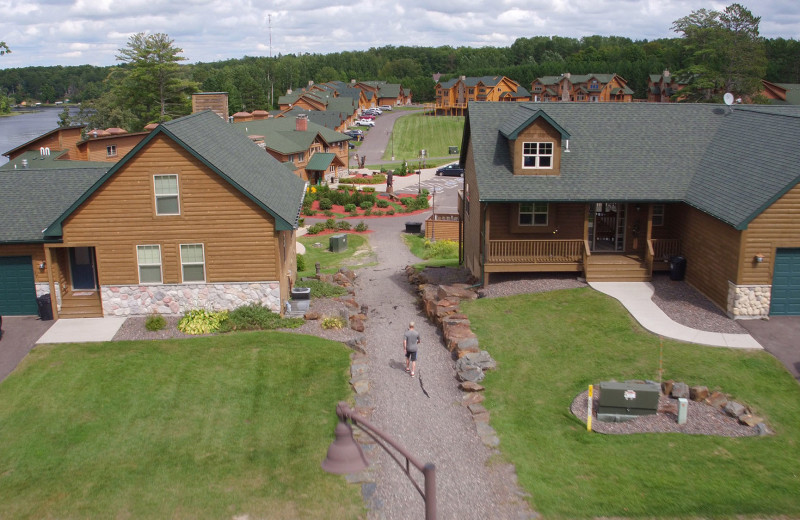 Exterior view of Big Sandy Lodge & Resort.