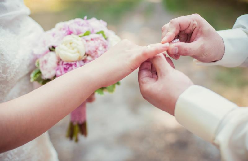 Weddings at Garland Lodge and Resort.