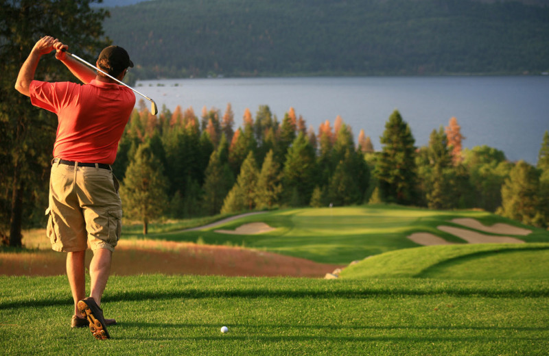 Golf course at Stowe Vacation Rentals & Property Management.