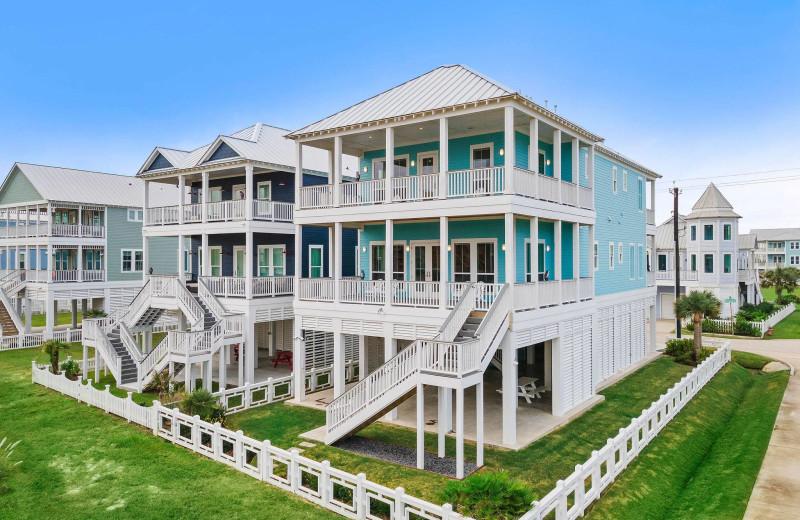Rental exterior at Gary Greene Vacation Rentals.