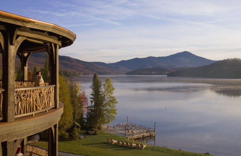 The Lake at Lake Placid Lodge