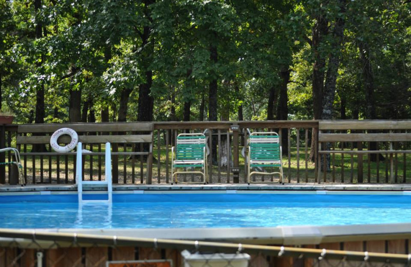 Outdoor pool at Indian Hill Resort.
