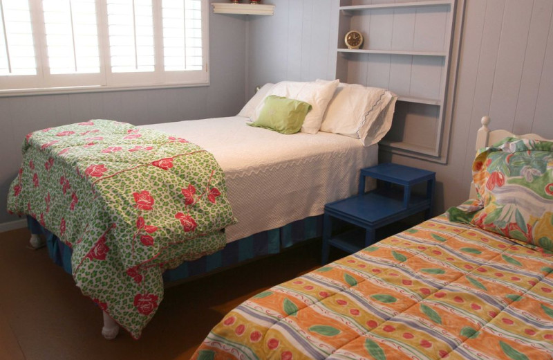 Bedroom at Good Golly.
