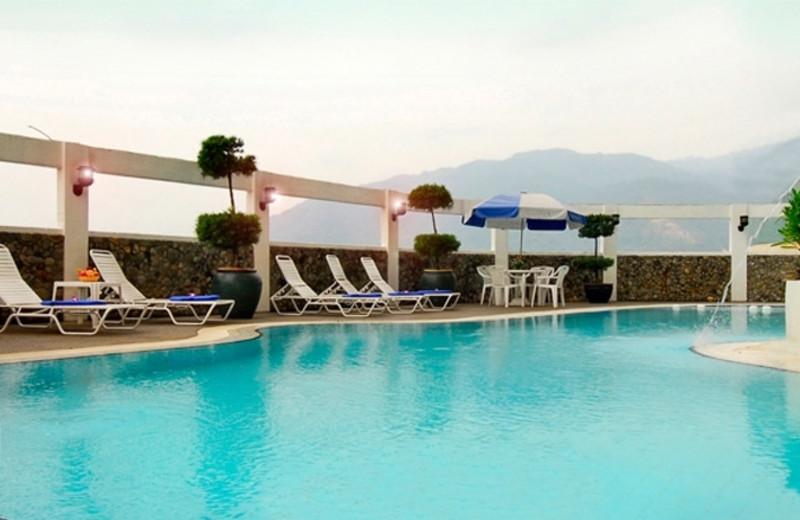 Outdoor pool at Berjaya Georgetown Hotel.