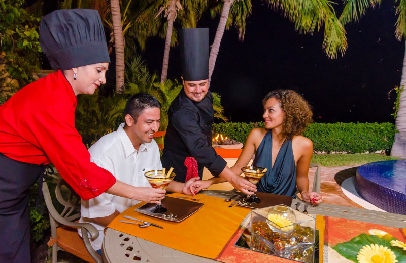 Chef services at Luxury Villa Collections.
