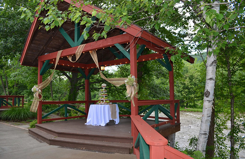 Gazebo at Emerson Resort & Spa.