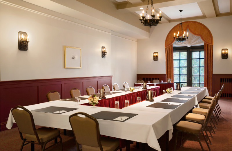 Meeting room at Fairmont Le Manoir Richelieu.