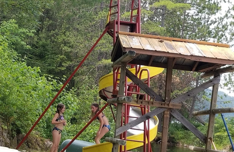 Slide at Mattawa River Resort.