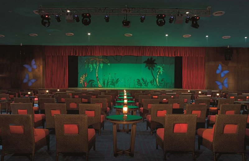 Theater at Now Jade Riviera Cancun.