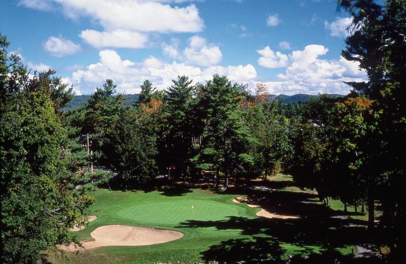 Golf course at Fairmont Le Chateau Montebello.