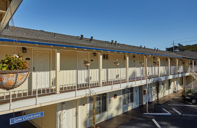 Exterior view of Inn by the Bay Monterey.