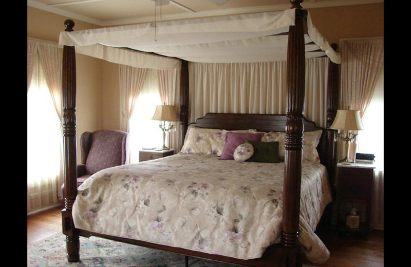 Guest room at San Gabriel House B & B.