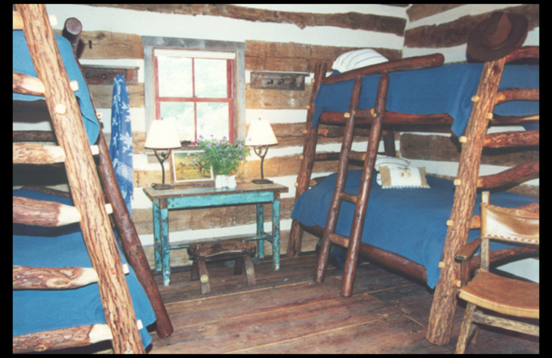 Bunk beds at Moriah.