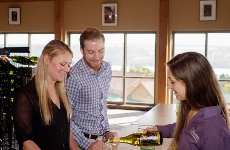Tastings at Glenora Wine Cellars