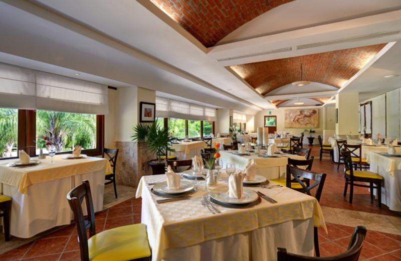 Dining at Allegro Resort Playacar.