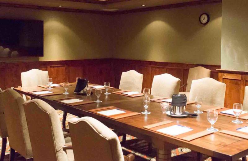 Meetings at The Lodge at Whitefish Lake.