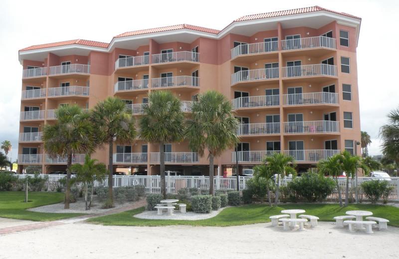 Exterior view of Sunsational Beach Rentals. LLC.