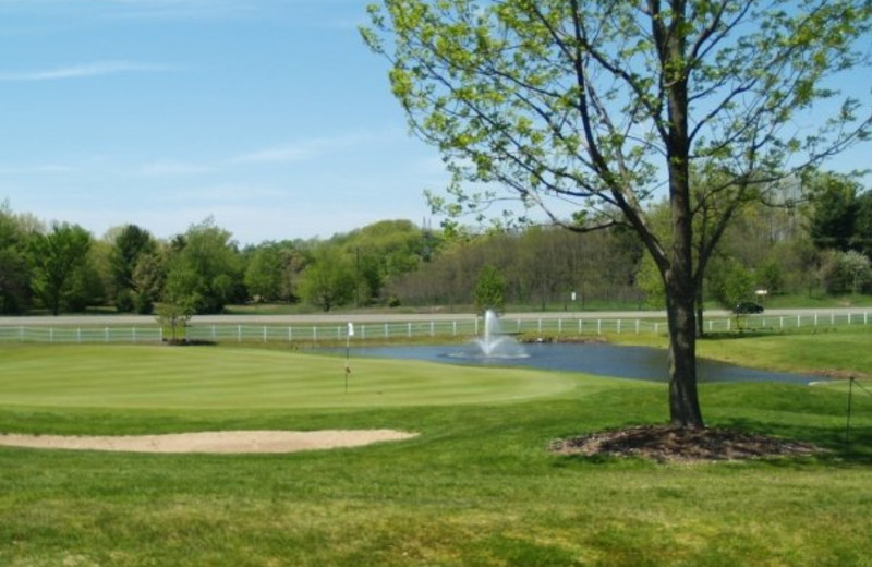 Golf course at Manistee National Golf & Resort.