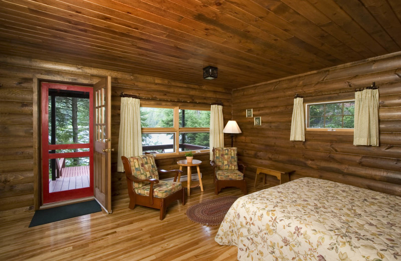 Guest room at Killarney Lodge.