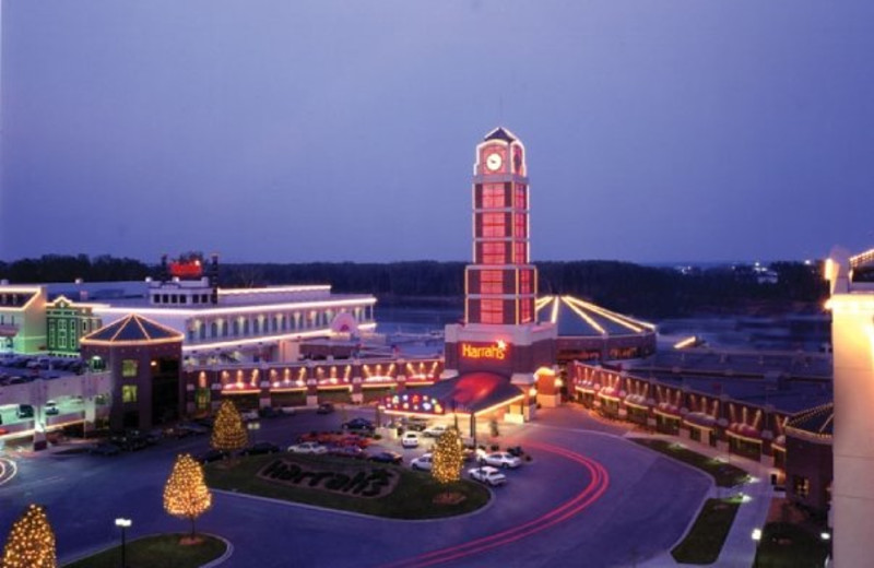Exterior view of Harrahs N.KC Casino.