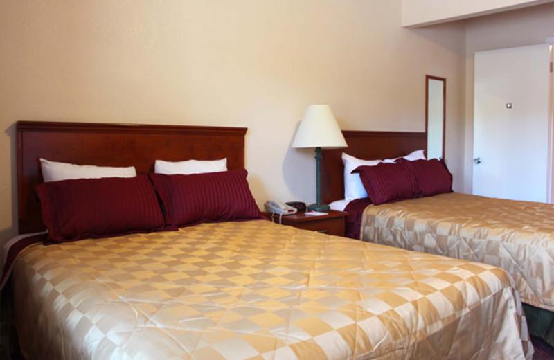 Guest room at Ramada Limited Sea World.