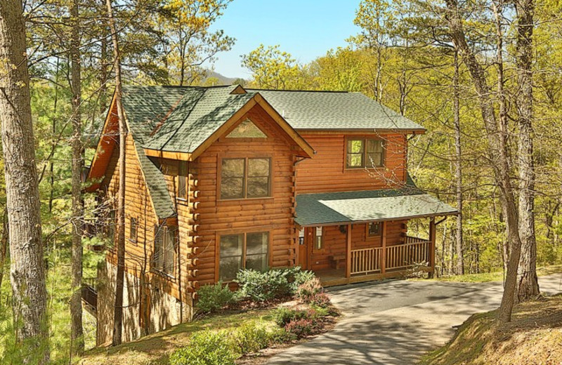 Unto These Hills cabin at Little Valley Mountain Resort