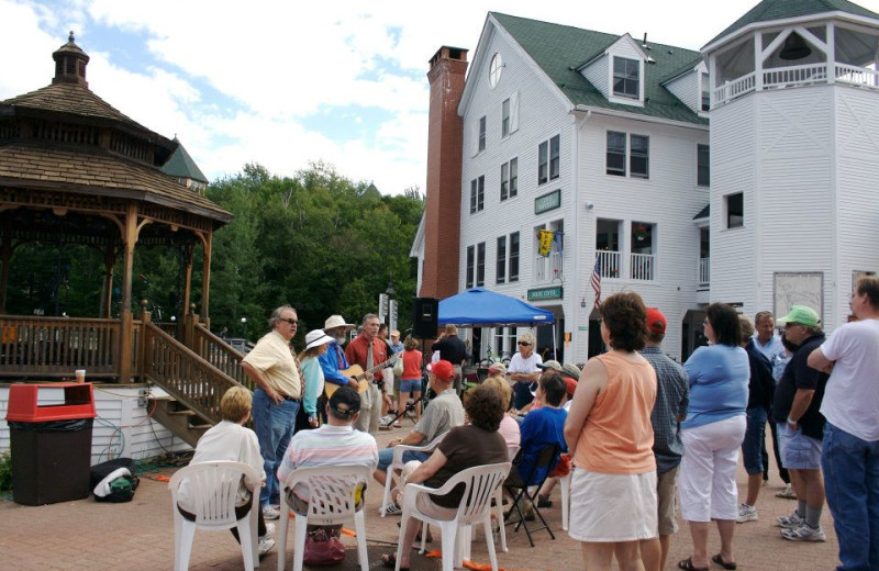 Live music at Waterville Valley Resort.