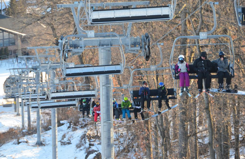 Ski lift at Devils Head Resort & Convention Center.