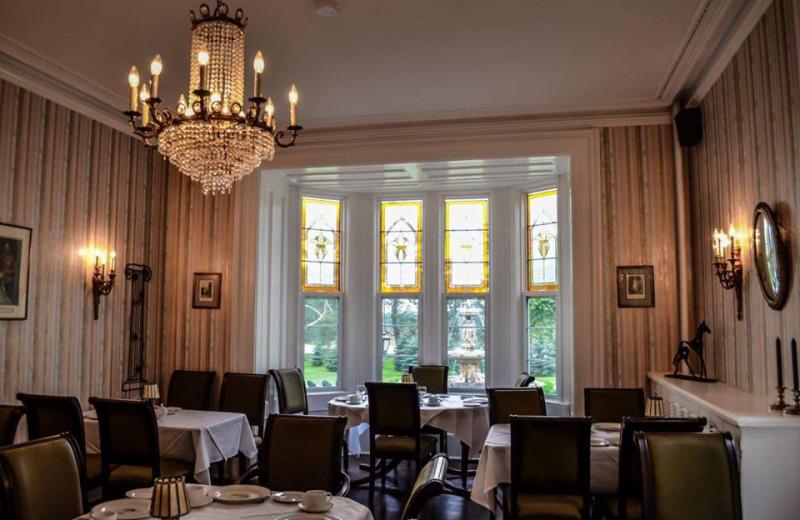 Dining Hall at Elm Hurst Inn & Spa.