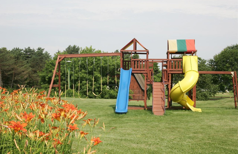 Playground at Stone Fence Resort.