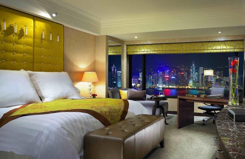 Guest room at InterContinental Hong Kong.