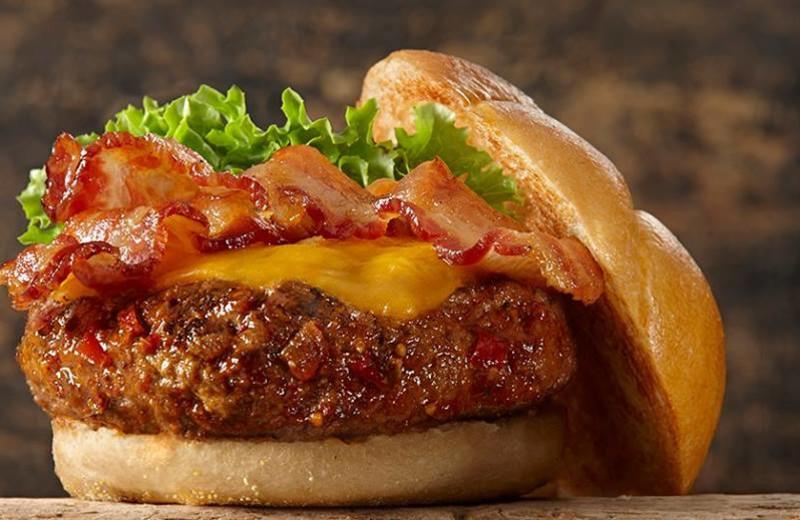 Hamburger at Gran-View On The River.