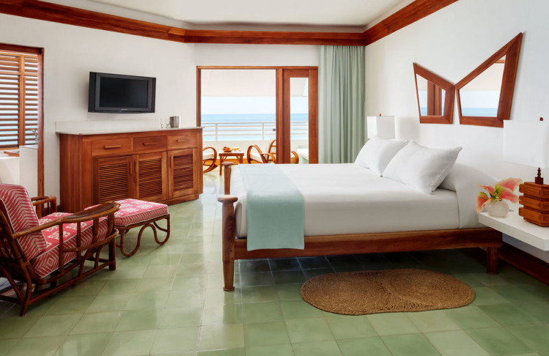 Guest room at Couples Swept Away Negril.