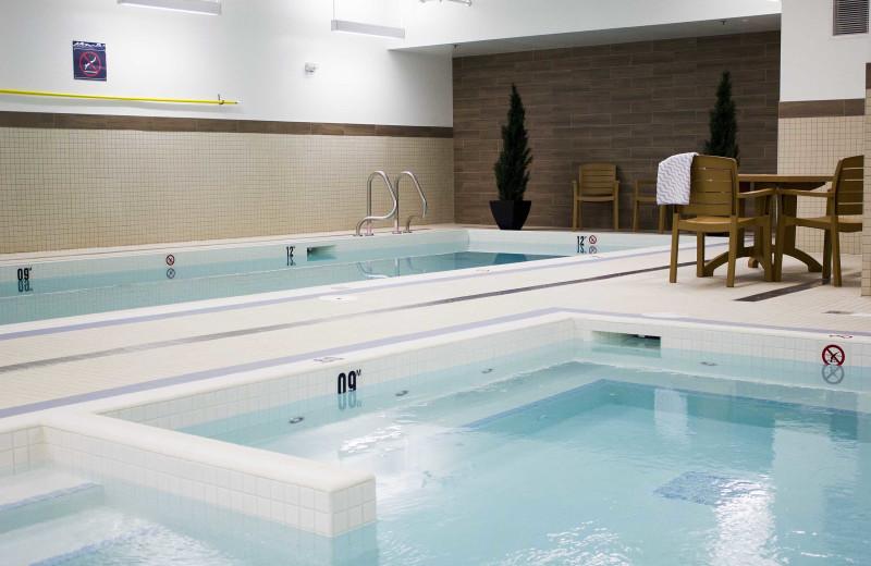 Indoor pool at The Crimson Jasper.